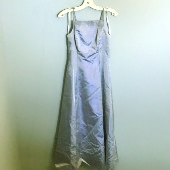 Algo Baby Blue Prom Dress - Size 4